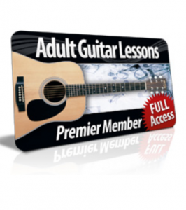 adult guitar lessons - course